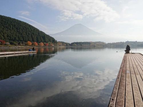 紅葉が見頃の田貫湖へ 前編 2020.11.15