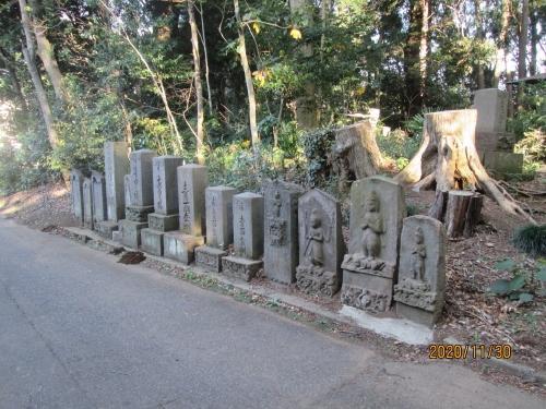流山市の思井・熊野神社・流山100か所めぐり(87)・石仏