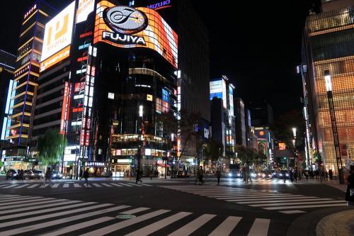 年末の夜の有楽町(東京都)へ・・・