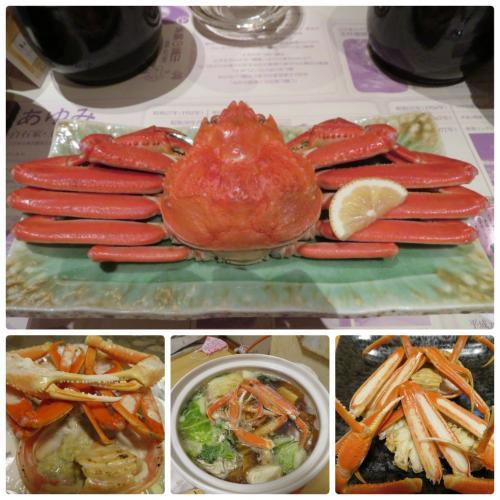 タグ付きの蟹が食べたい!GO TOを利用して年内に行かなくちゃ 2020(玉造温泉&松江)