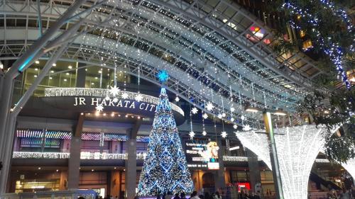 2020年光の街・博多~JR博多シティのイルミネーション~