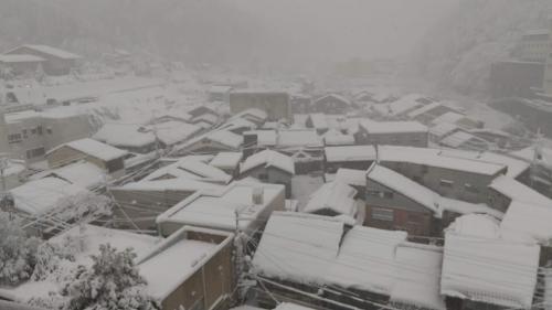 北近畿温泉巡り旅行のはずが大雪で巡れず