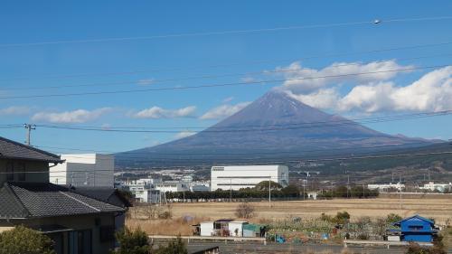 富士山浴の鉄道旅