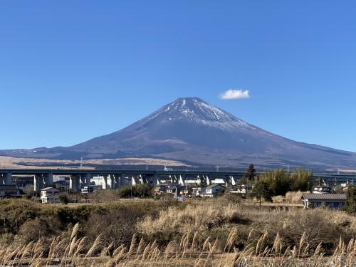 2021年1月 御殿場&沼津で富士山観賞
