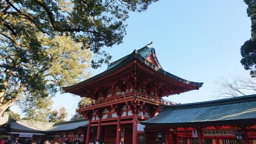 大宮氷川神社で2021年の初詣&小動物園散策