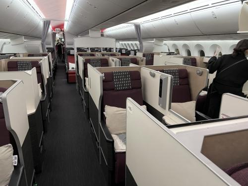 コロナ過のJAL長距離線ビジネスクラス。FRA/NRTと成田空港到着後の動き。