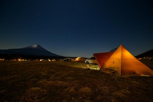 ふもとっぱらキャンプ場・年末キャンプ。