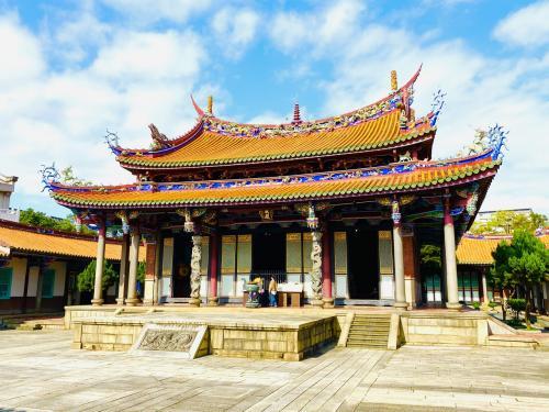 台北市大同区北部の寺院めぐりと祭り