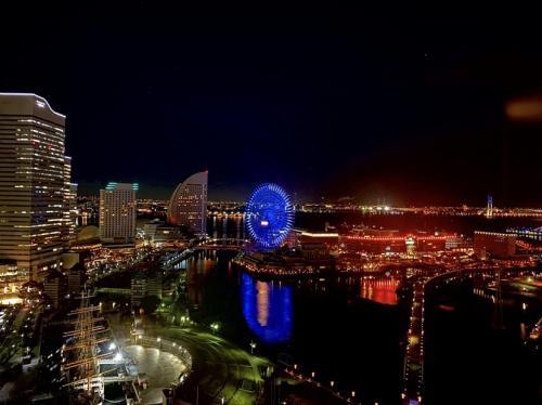 ☆ステキな夜景☆横浜へ.。o○みなとみらいの夜景は本当に綺麗☆キラッキラ☆  中編
