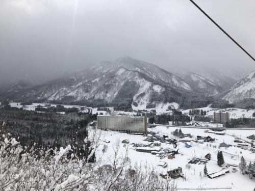 5・7歳児連れ、湯沢中里スキー旅行