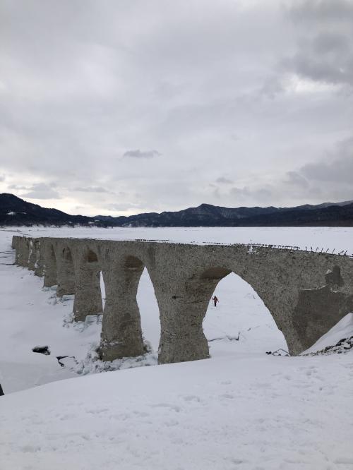 2021年 冬の北海道へ 5日目 タウシュベツツアー参加