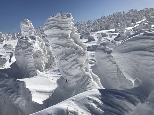 厳冬期登山 今年も恒例の八甲田
