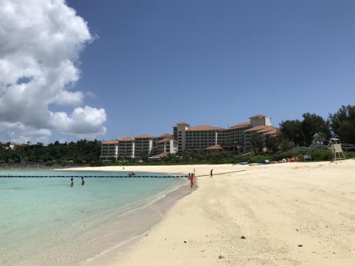 2021年4月 沖縄旅行記② ザ・テラスクラブ アット ブセナ宿泊~ブセナビーチ滞在