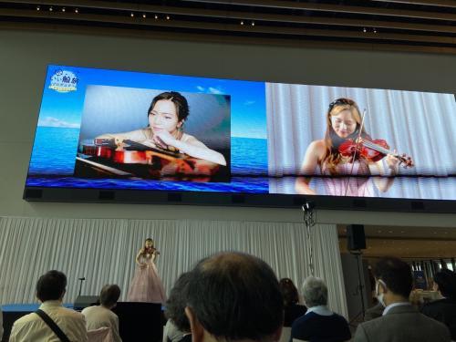 ウイズコロナ下のお台場に新しくできた国際クルーズターミナルで開催された、JTB「いい船旅プロジェクトクルーズフェアー」に参加した