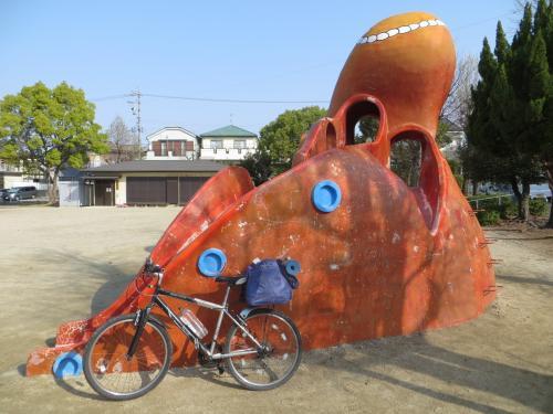 琵琶湖一周サイクリング 準備不足編2021年3月26日(1/4)