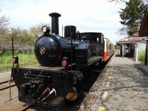 里山をトロッコ列車で、春風とともに巡った一日。