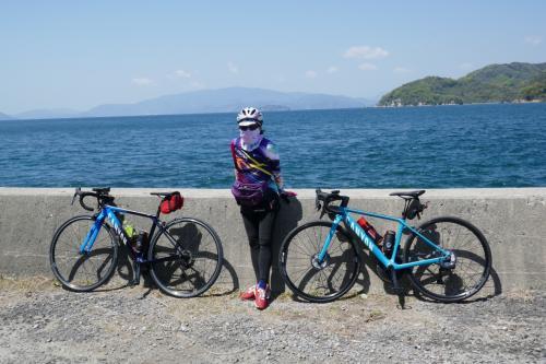 CRESSONで行く~とびしま海道 ロードバイクで大崎下島・岡村島めぐり^^ NO1