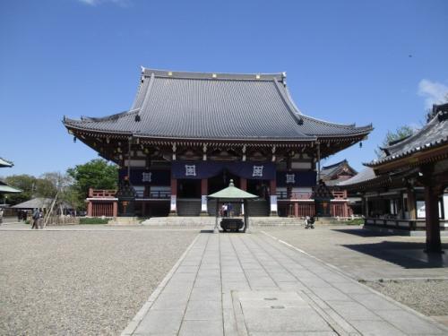 池上本門寺、寺院と春の花巡り