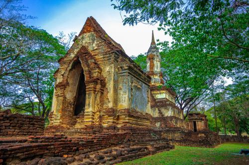 タイの遺跡を全部巡るつもりが、コロナの影響で北部だけで終わってしまった旅 その20 素晴らしい遺跡に大興奮