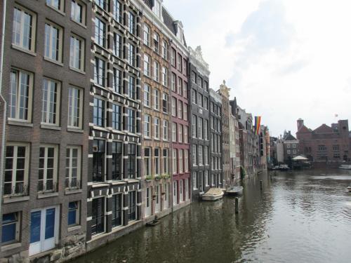 オリンピックフライトでアムステルダム立ち寄り!