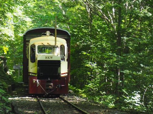 2021.07 東濃・木曽の旅(3)赤沢自然休養林で森林鉄道に乗車して、森林浴を楽しもう。