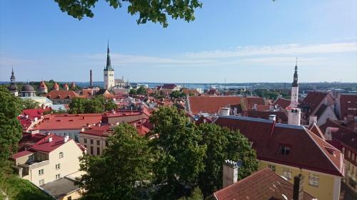 スウェーデン~フィンランド避暑の旅(9) 赤い屋根の家々が建ち並ぶ最果ての旧市街~エストニアの首都タリン