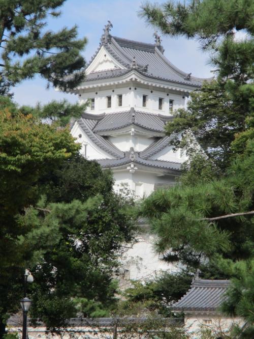 老夫婦のお城巡り 第五弾【大垣城】と城下町散策
