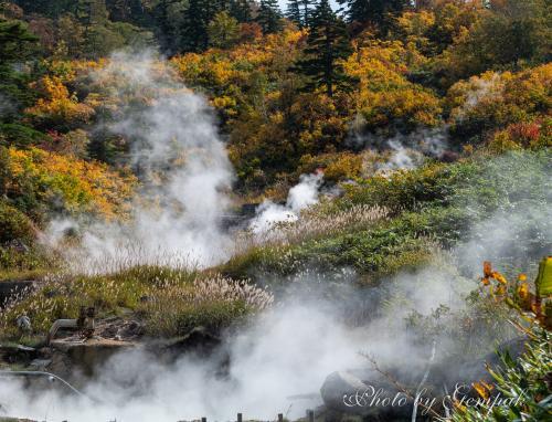 紅葉と秘湯を巡る秋の八幡平(2) ~秋田県側~