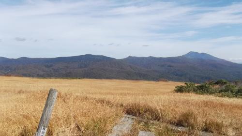 今季最後の遠征で秋田に 大白森と大平山