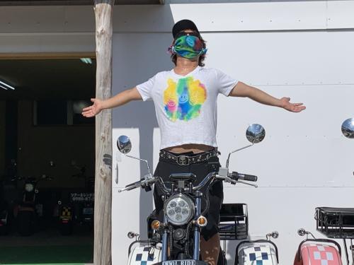バイクで堪能しました