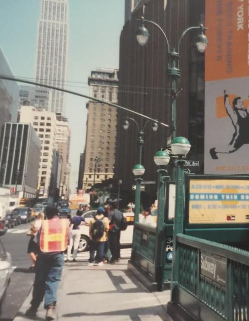 ニューヨーク州 マンハッタン - 初日は13年ぶりのニューヨークが安全な観光地に変わっていたのを実感