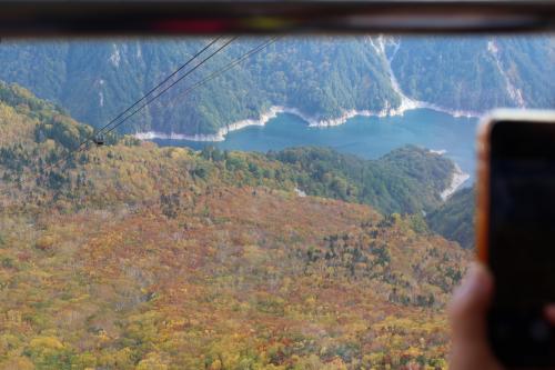 立山黒部アルペンルートに紅葉を見に行ってきました