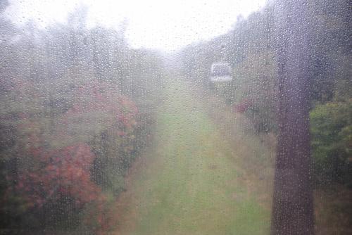 86歳の母を連れて紅葉を見に那須へ。その1 大雨の中で紅葉狩り。
