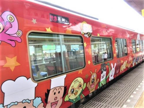 岡山in高知outのアンパンマン旅 ②アンパンマン列車(土讃線)で琴平から高知へ