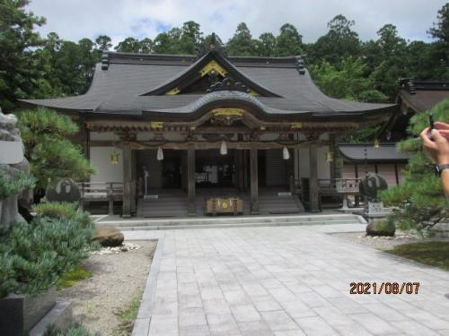 紀の国訪問記(67)熊野本宮大社を下山する。