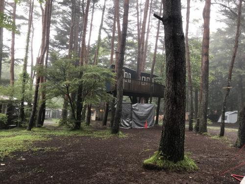 富士吉田で初めてのソロキャンプ(車なし)