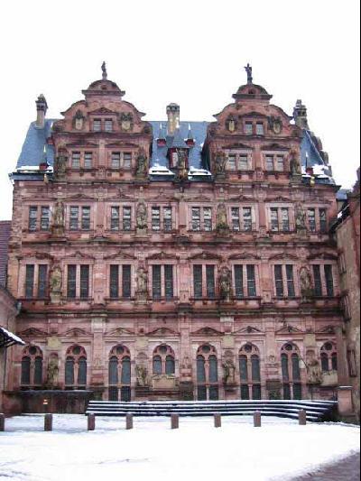 荘厳な雰囲気「ハイデルベルク城」