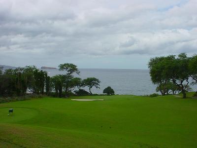 マウイ島でゴルフをしました