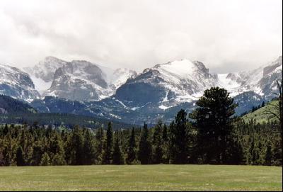 春のロッキーマウンテン国立公園