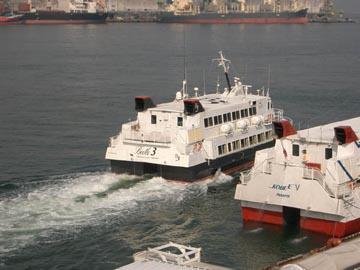 船で行く釜山の旅 その1