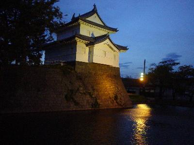 新発田城三階櫓(やぐら)再建