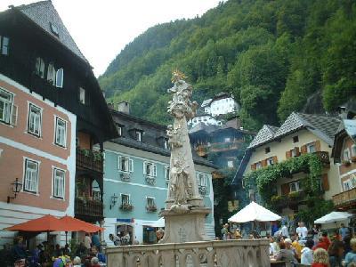 ドイツ・オーストリア旅行記2004(その4:ザルツカンマーグート、ハルシュタットへ)