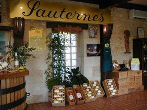 世界三大貴腐ワインの産地、ソーテルヌ