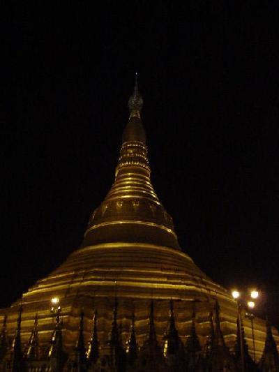 ヤンゴン初日