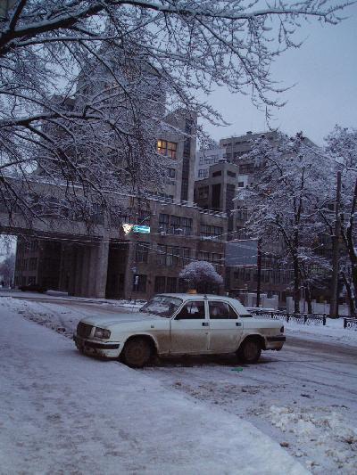 雪の世界ハリコフ ご近所編