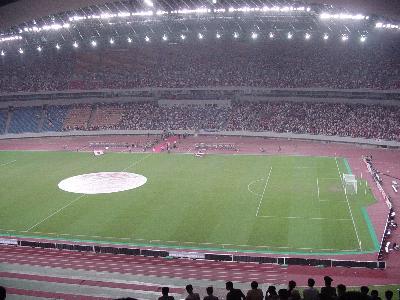 重慶サッカー会場
