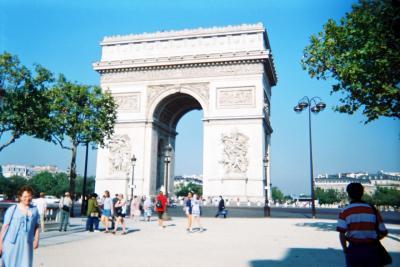 初めての海外旅行で1人旅デビューしてみたNo.3<パリ編>ユーロスターでロンドンからパリへ 憧れのパリ散歩