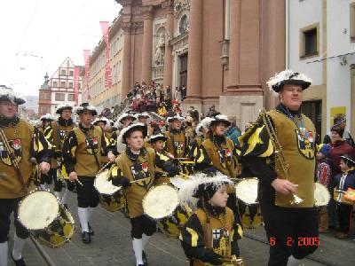 ヴィルツブルクのファッシングパレード