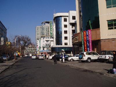 延吉 新興街北側 北朝鮮レストラン2店舗