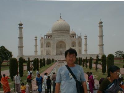 インドの旅(3)  【アグラ】